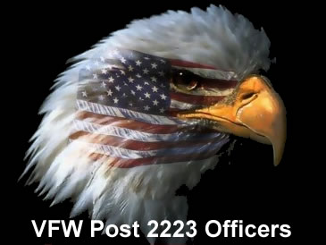 VFW Post 2223 Officers